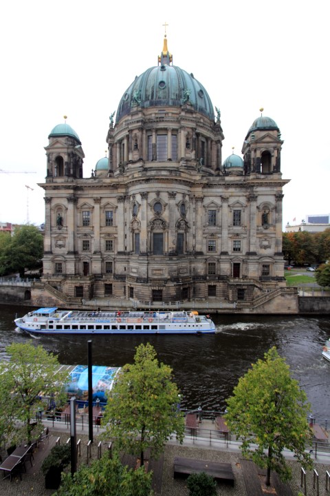 Berlin Cathedral from 'city view' room