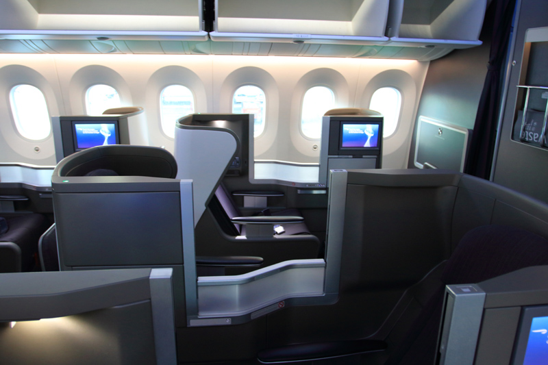 787-9 Club World interior